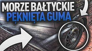 MORZE BAŁTYCKIE | ROZERWANA OPONA W BMW, SPOTKANIE Z WIDZEM !!