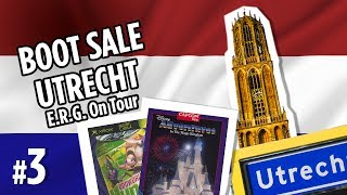CAR BOOT SALE / FLEA MARKET / CHARITY SHOP Video game hunting in Utrecht, the Netherlands