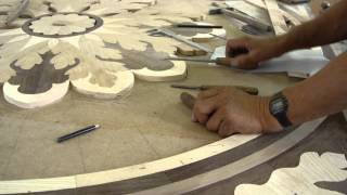 Marquetry - Inlay/medallion - Hope - Luxury Wood Flooring