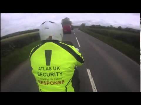 Alarm Response Bike - Atlas Uk Security Services - Music by John Newman    Try