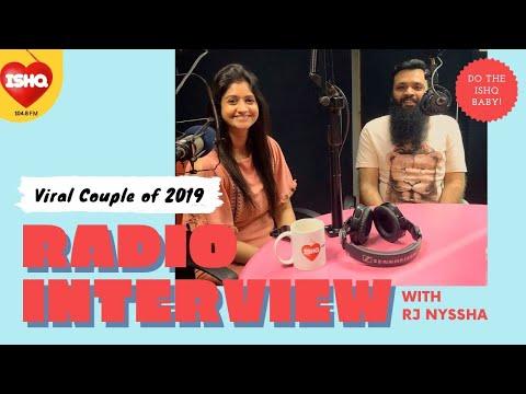 Radio Interview   Veena & Anant   RJ Nyssha   @Ishq 104.8 FM   DoTheIShqBaby