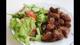 Готовим: Мясо в винном соусе. Просто и вкусно!