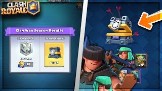 OPENING NEW SILVER LEAGUE WAR CHEST! Clash Royale NEW SILVER WAR LEAGUE
