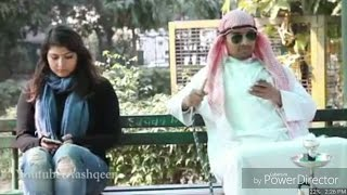 Dubai Sheikhs Golden Biscuits Vs Indian Girls Attitude..Funny Video