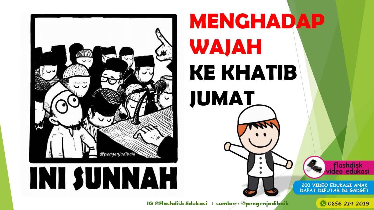 Video Edukasi Anak Belajar Sunnah Youtube Flashdisk Muslim