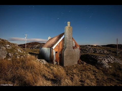 Suspended in time: Eerie photographs capture decay of remote Scottish island homes