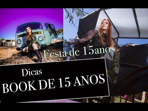 DICAS DE BOOK E FESTA DE 15 ANOS