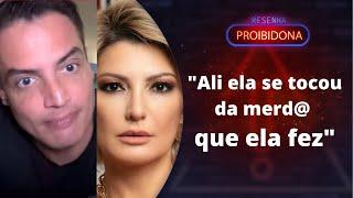 """""""Não se faz isso com ninguém"""", dispara Leo Dias sobre Antônia Fontenelle"""