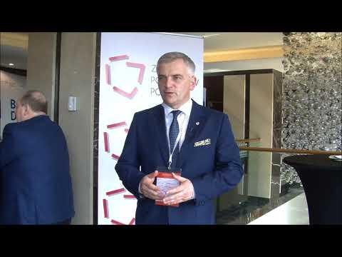 Andrzej Maciejewski podczas XXIII Zgromadzenia Ogólnego Związku Powiatów Polskich