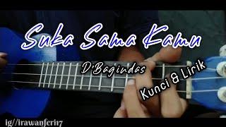 D'Bagindas - Suka Sama Kamu (Kunci&Lirik) Cover Kentrung Ukulele by Feri Yt Official