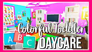 ROBLOX | Bloxburg: Colorful Toddler Daycare 58k