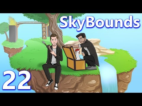 Minecraft: SkyBounds w/ CaptainSparklez - Ep 22 - SURVIVING THE SURVIVAL ARENA