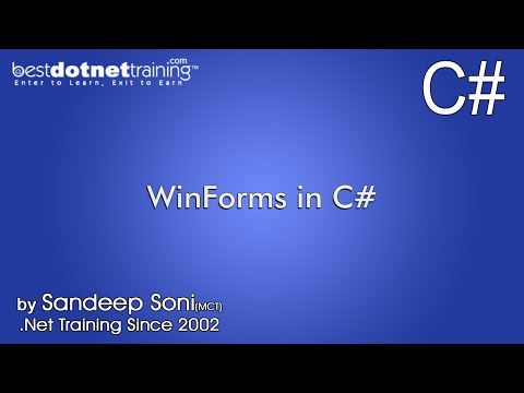 Part 7 - C# winForms - WIN Form Login Facility