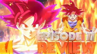 Dragonball Super Episode 11 Review  Super Saiyan God Goku VS Beerus Fight Continues!