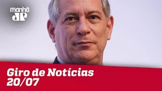 Giro de Notícias Jovem Pan - 20/07/18 - Segunda Edição thumbnail