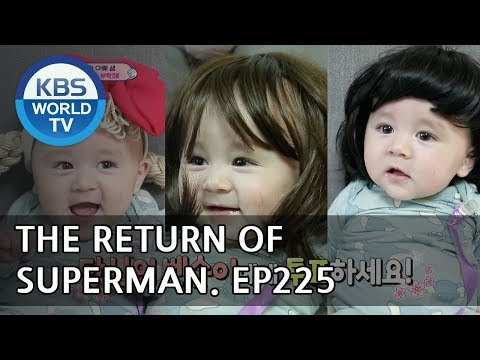 The Return of Superman | 슈퍼맨이 돌아왔다 - Ep.225: Happy Incidents Occur Every Day [ENG/2018.05.20]