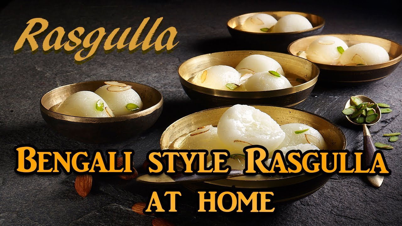 Bengali style Rasgulla at home | How to Make Rasgulla | Sweet and Sponge Rasgulla | Gharelu Khana.