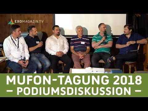MUFON-Jahrestagung 2018: Die Podiumsdiskussion
