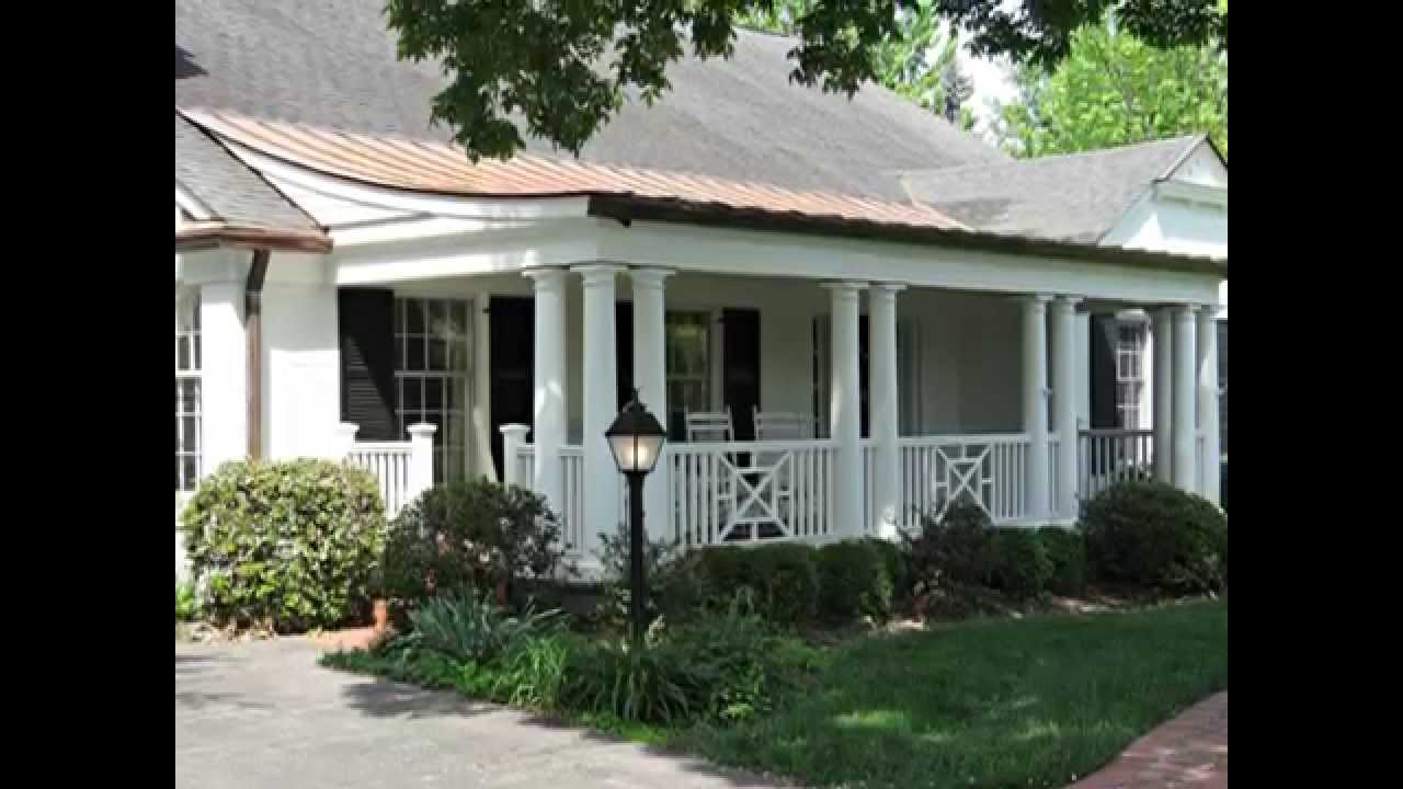 Front Porch And Exterior Facade Makeover With Curved