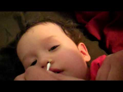 Baby booger extraction