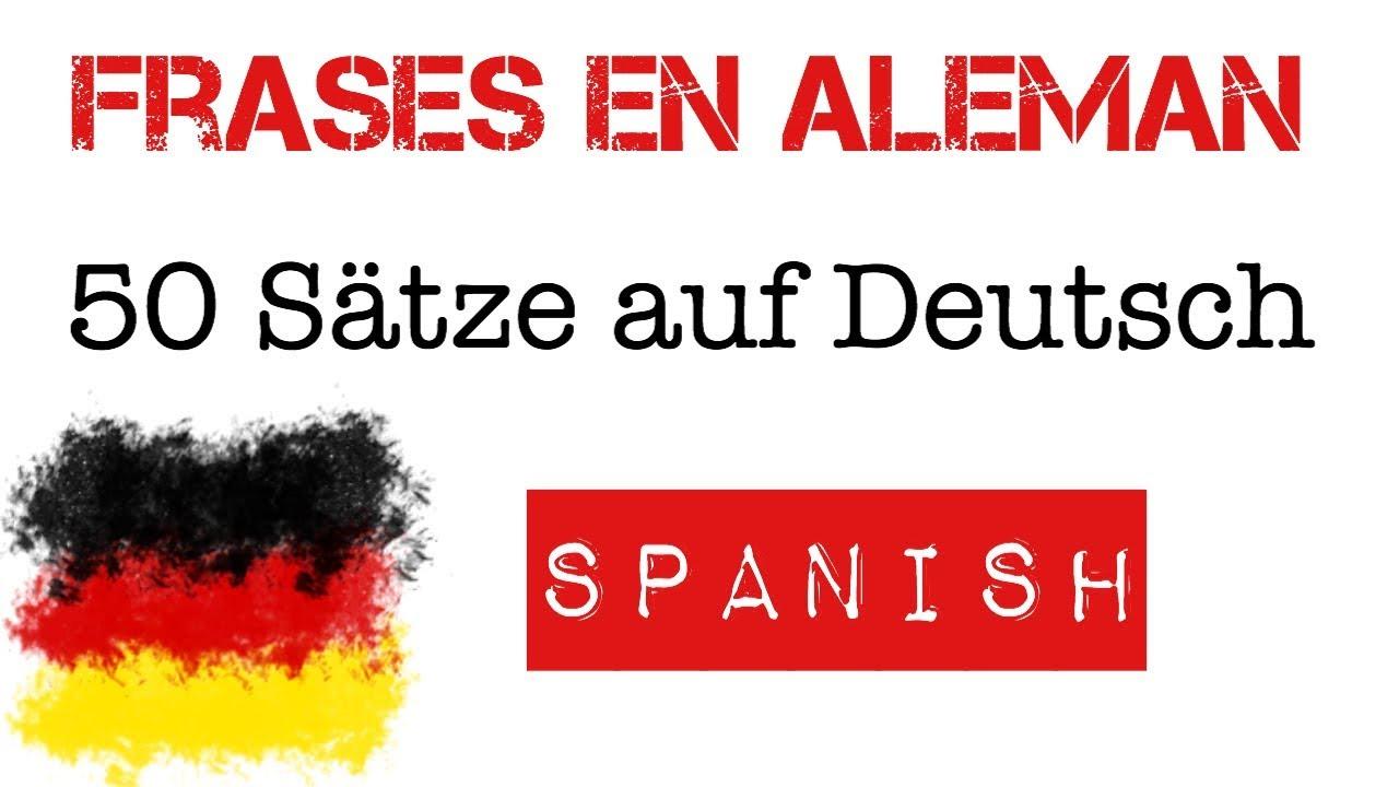 50 Frases En Alemán Para Principiantes A1 A2