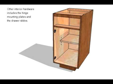 Frameless Base Cabinet Youtube