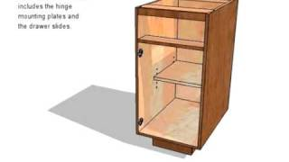 Frameless Base Cabinet