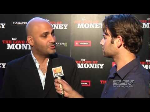 "SLTV: Michael Benyaer chats on the red carpet for the premiere of ""For the Love of Money"""
