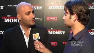 """SLTV: Michael Benyaer chats on the red carpet for the premiere of """"For the Love of Money"""""""