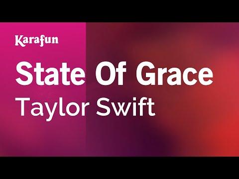 Karaoke State Of Grace - Taylor Swift *