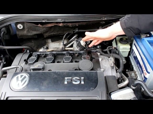 Ошибка 05123, P0404  на VW passat B6 2.0 FSI