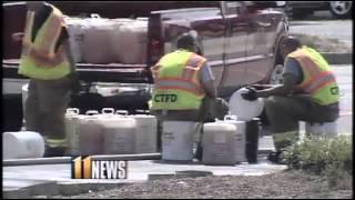 Major gas spill