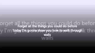 Emin Walk Through Walls lyrics