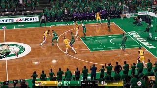 NBA LIVE 19 60fps - Lakers vs Celtics - LIVE STREAM - HD