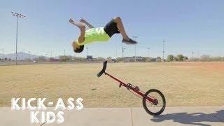 12-Year-Old Prodigy Performs Insane Stunts | KICK-ASS KIDS