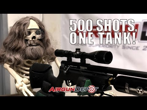 Over 500 Shots Per Fill With Your Umarex Gauntlet!