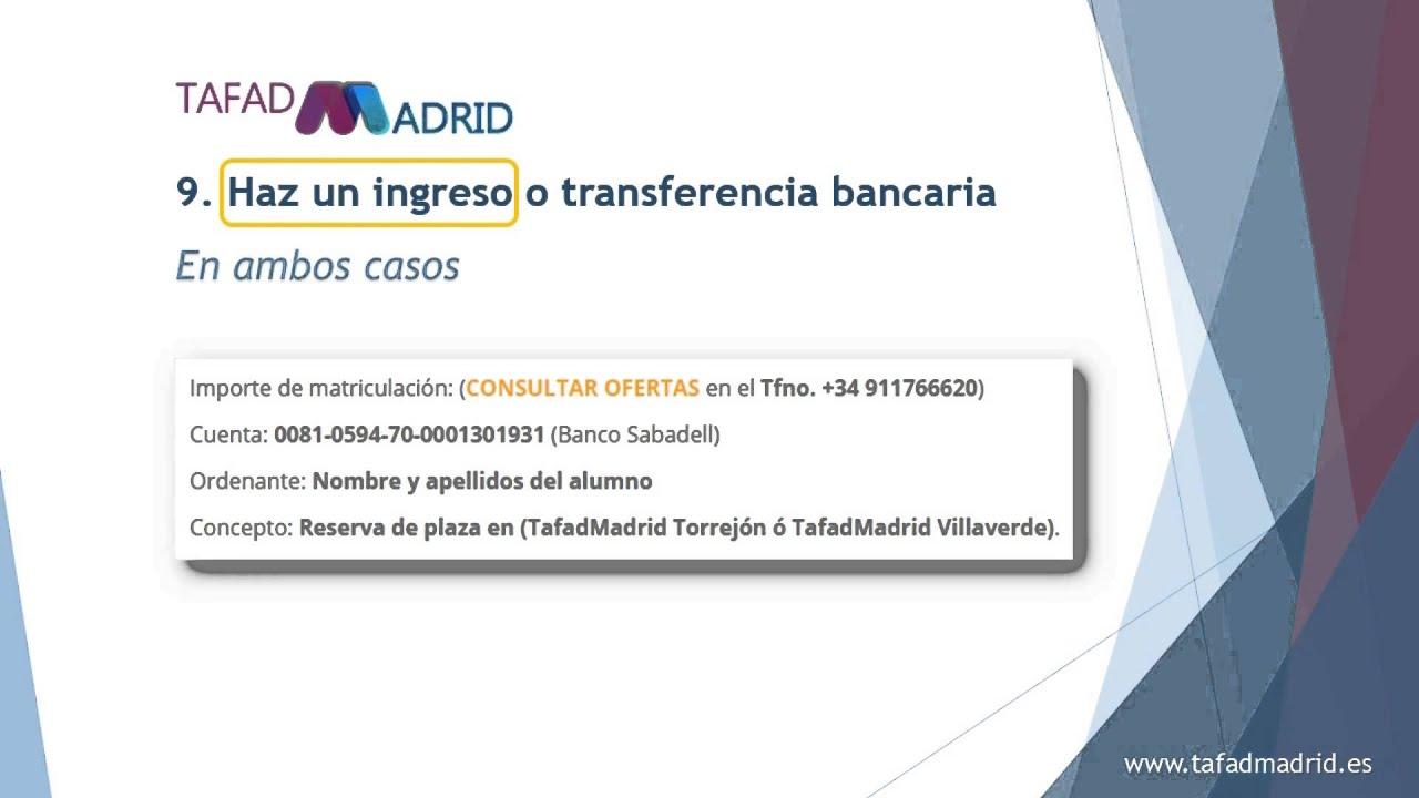Tafad Madrid Fp Grado Medio Y Superior Actividades Físicas