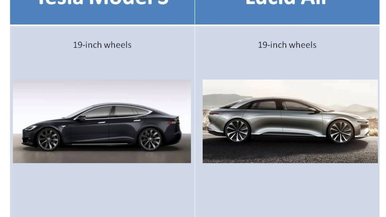 Tesla Model S Vs Lucid Air Lil Comparison