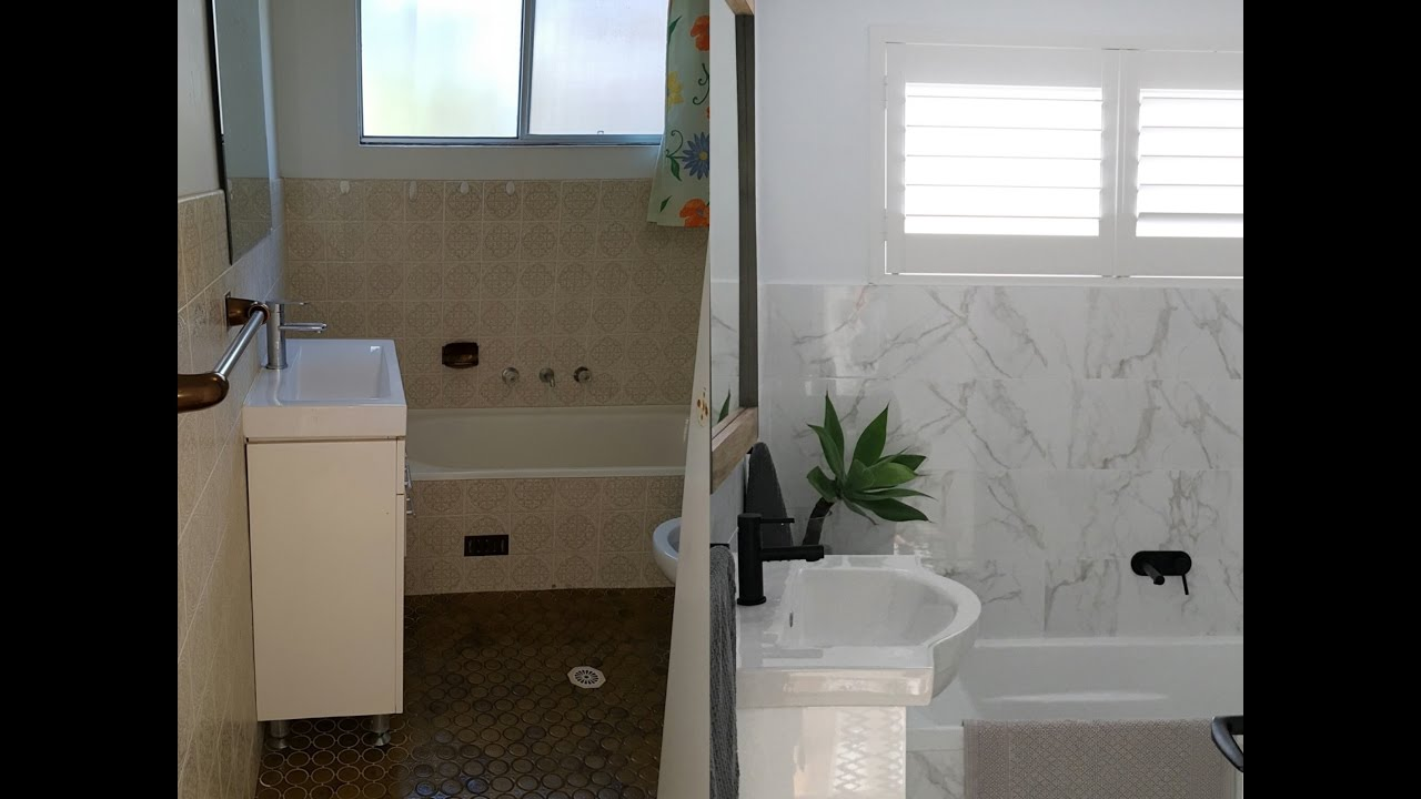 Bathroom remodel carlton sydney youtube for Youtube bathroom remodel