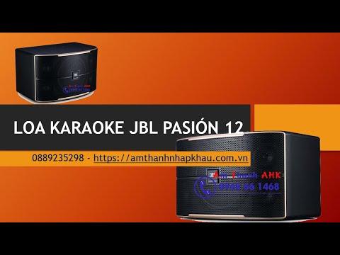 Loa karaoke JBL Pasión 12 - Loa toàn dải cao cấp mới nhất 1
