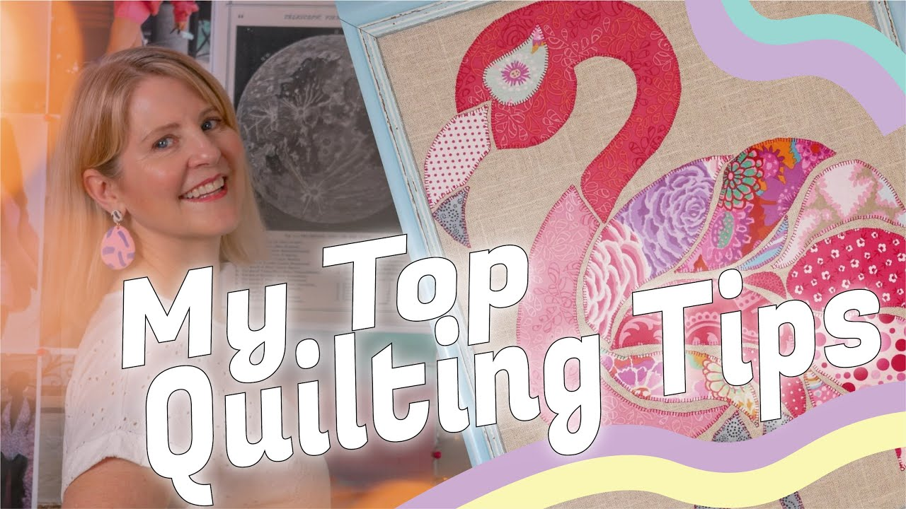 Tips for quilting with a walking foot.