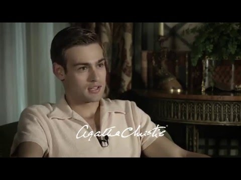Douglas Booth on being in Agatha Christie