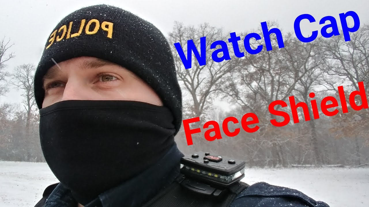 a713a2e8b9752 Police Watch Cap   Face Shield  Galls - YouTube