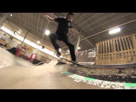 Adam Wrightington at skaters edge