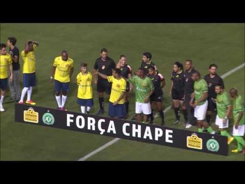 Neymar leads tributes to Chapecoense at charity game | Sportdec