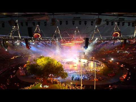 London 2012 Opening Ceremony - Forging Olympic Rings