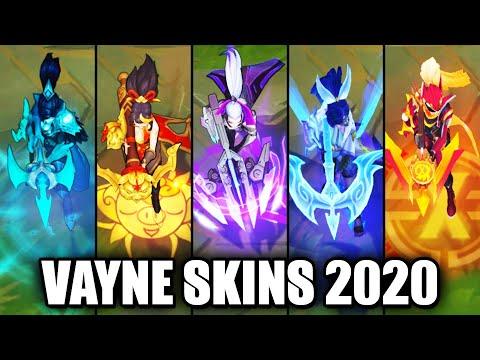 All Vayne Skins Spotlight 2020 - Spirit Blossom Latest Skin (League of Legends)