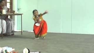 Kerala folk dance(Nadodinritham)at De-paul School Kalpetta by Hridhya Satheesan