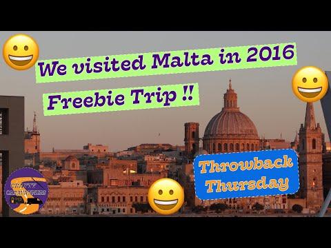 Throwback Thursday Malta 2016 - Freebie Trip