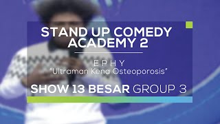 Download Video Ephy - Ultraman Kena Osteoporosis (SUCA 2 - Guest Star) MP3 3GP MP4